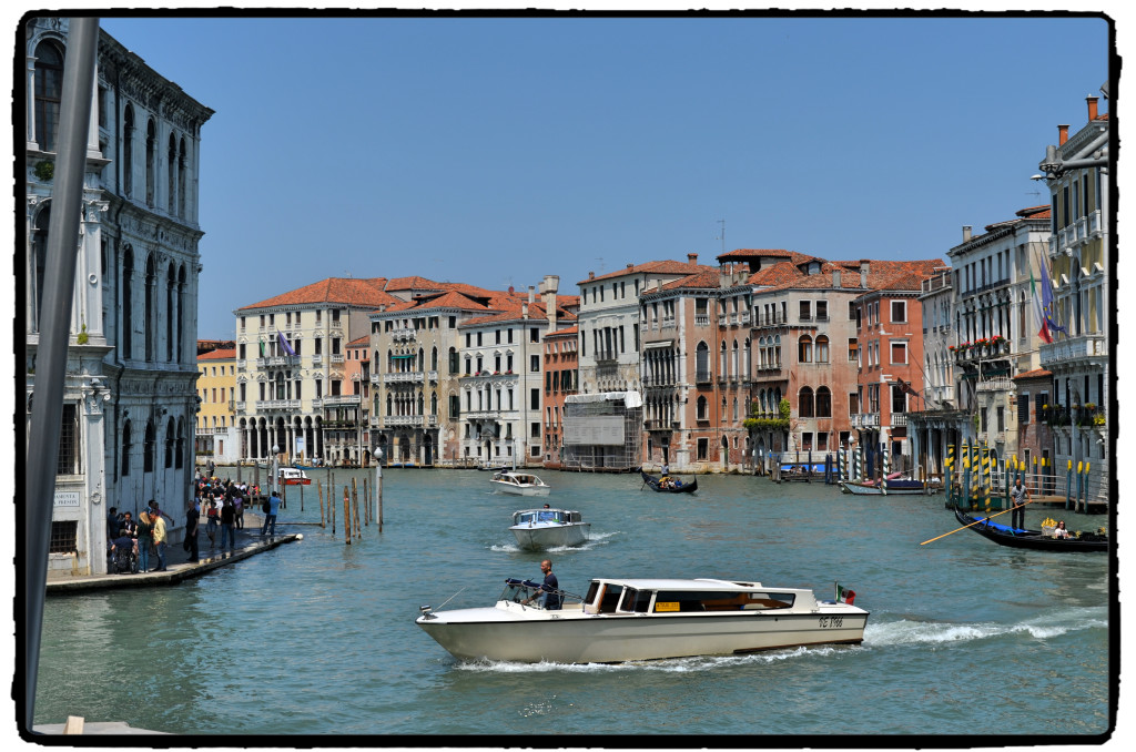 Wenecja motorówka