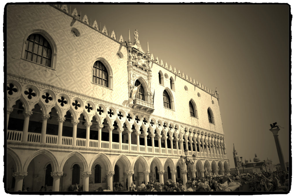 wenecja pałac dożów