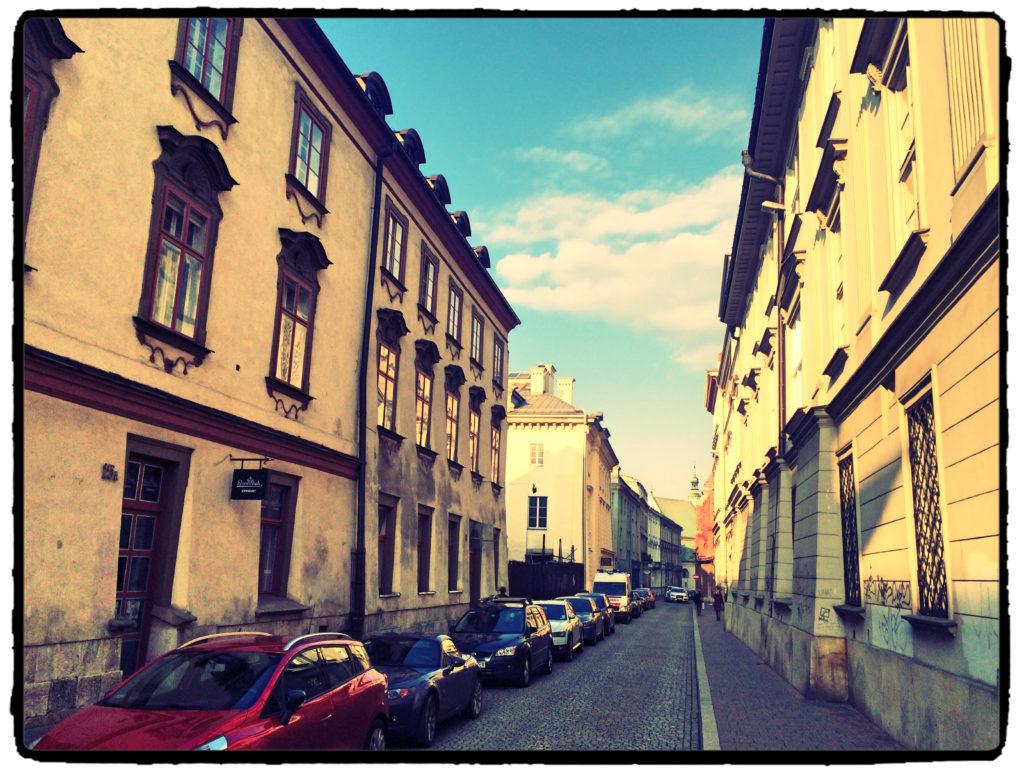 pas drogowy Kraków